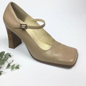 3/$25 Sam & Libby Vintage Square Toe Mary Janes
